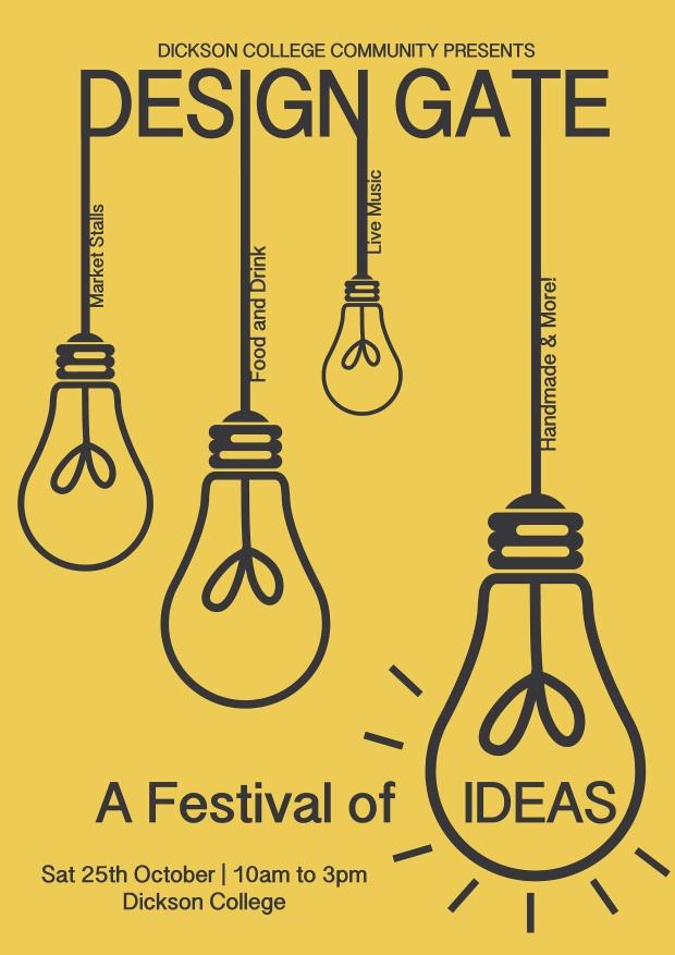Design Gate 2014 promotional poster